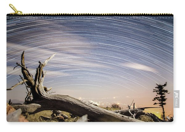 Star Trails By Fort Grant Carry-all Pouch