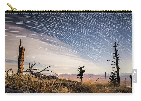 Star Trails Over Mt. Graham Carry-all Pouch