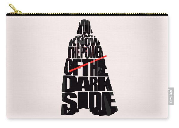 Star Wars Inspired Darth Vader Artwork Carry-all Pouch