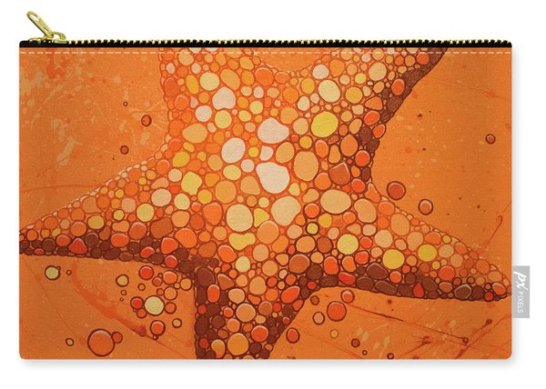 Starfish In Coral Carry-all Pouch