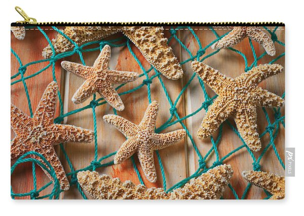 Starfish In Net Carry-all Pouch