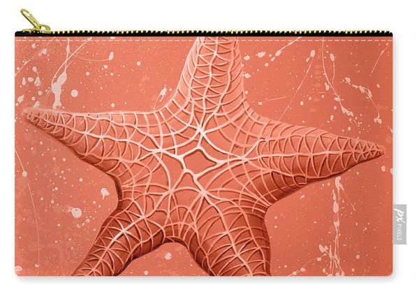 Starfish In Pink Carry-all Pouch