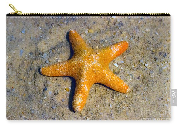 Starfish In The Sand Carry-all Pouch