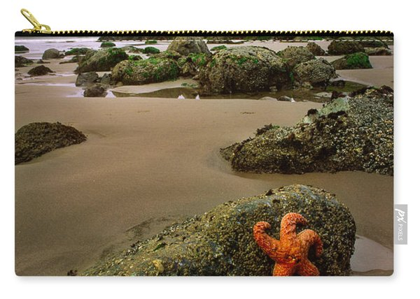 Starfish On The Rocks Carry-all Pouch