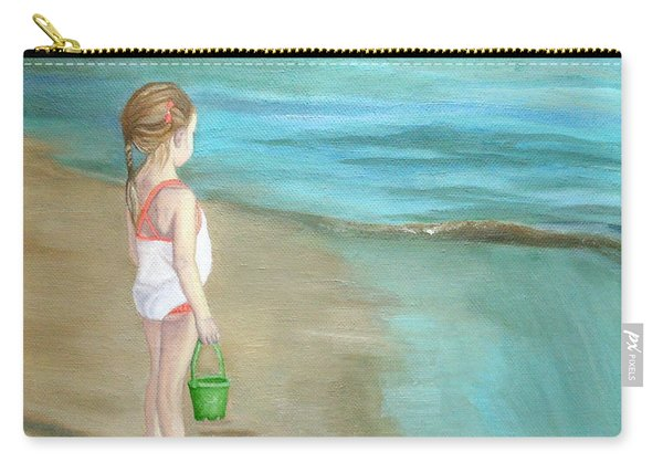 Staring At The Sea Carry-all Pouch