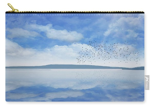 Starling Murmuration  Carry-all Pouch