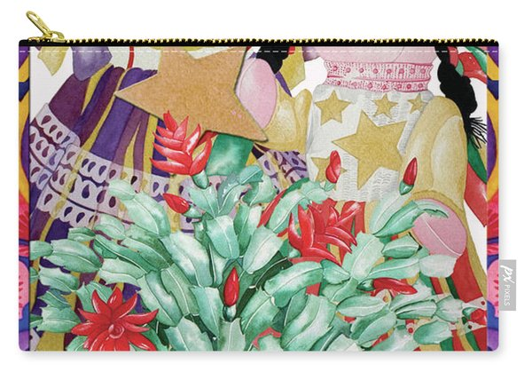 Starring The Christmas Cactus Carry-all Pouch