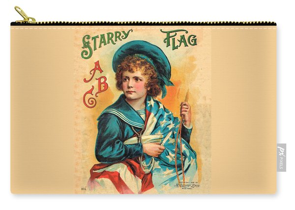 Starry Flag Cover Abc Book Carry-all Pouch