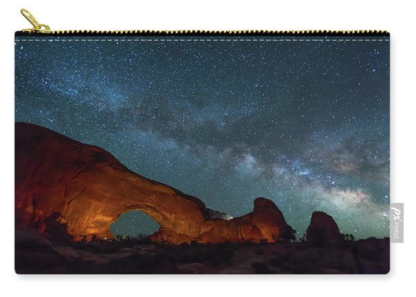 Starry Night At North Window Rock Carry-all Pouch