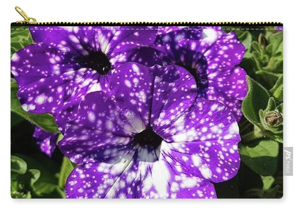 Starry Petunias... Carry-all Pouch