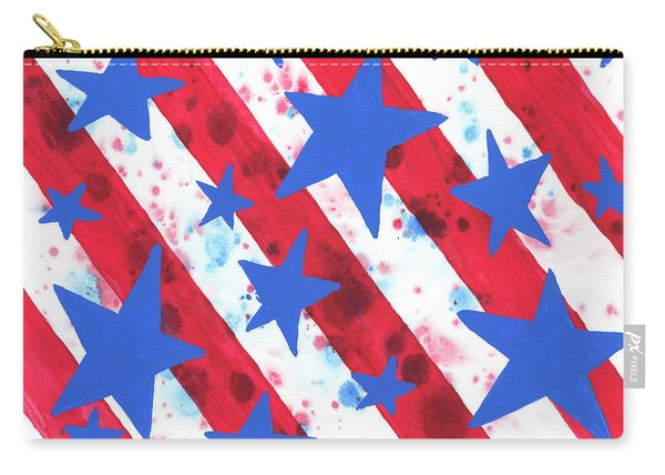 Stars And Strips  Carry-all Pouch