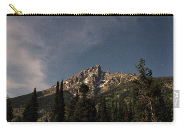 Stars Over Grand Teton Carry-all Pouch