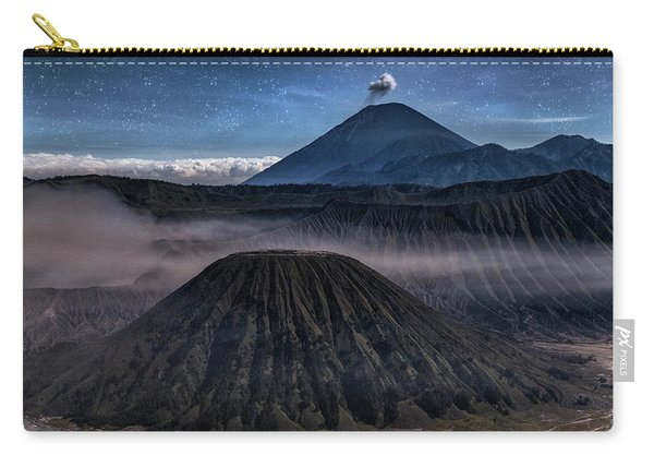 stars over Mount Bromo - Java Carry-all Pouch
