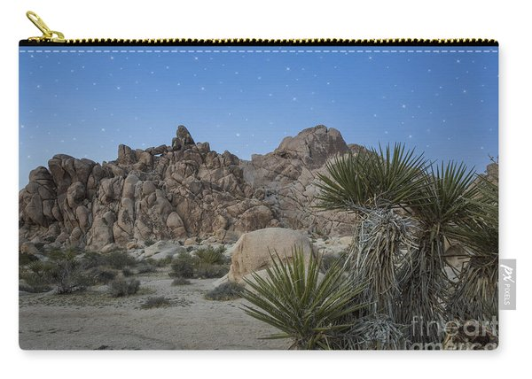 Stars Shining Over Indian Cove Carry-all Pouch