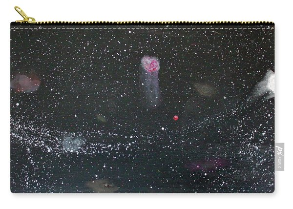 Carry-all Pouch featuring the painting Starry Night by Michael Lucarelli