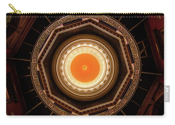 Statehouse Dome-new Jersey Carry-all Pouch