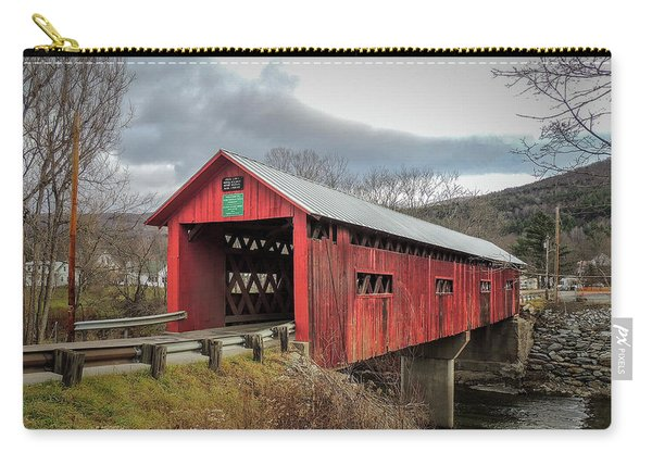 Station Covered Bridge Carry-all Pouch