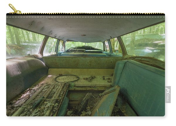 Station Wagon In Color Carry-all Pouch