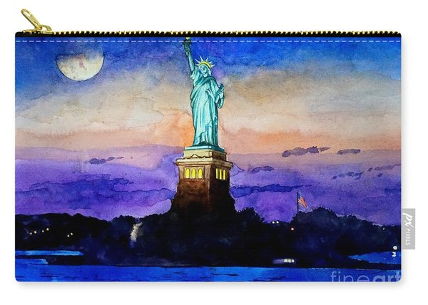 Statue Of Liberty New York Carry-all Pouch
