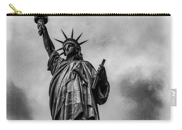 Statue Of Liberty Photograph Carry-all Pouch