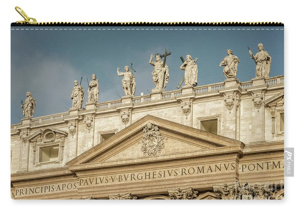 Statues Of St Peter's Basilica Carry-all Pouch