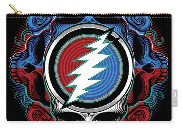 Steal Your Face - Ilustration Carry-all Pouch