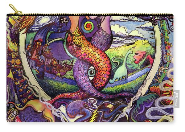 Steal Your Mermaids Carry-all Pouch