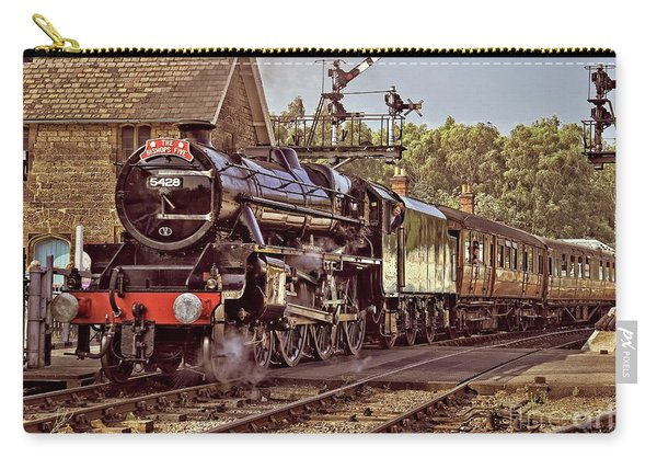 Steam Loco On Yorkshire Railway Carry-all Pouch