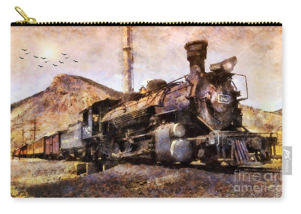 Steam Locomotive Carry-all Pouch