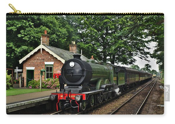 Steam Locomotive In England Carry-all Pouch