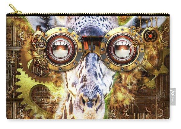 Steam Punk Giraffe Carry-all Pouch
