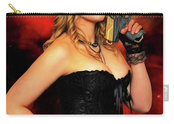 Steam Punk Gun Figther Carry-all Pouch