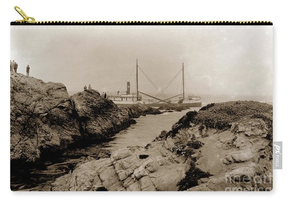 Steam Schooner S S J. B. Stetson, Ran Aground At Cypress Point, Sep. 1934 Carry-all Pouch