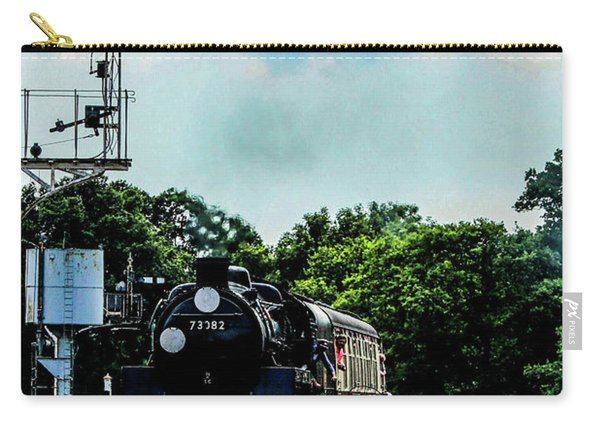 Steam Train Approaching Carry-all Pouch