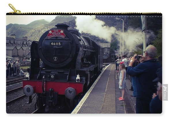 Steam Train, Ffestiniog, North Wales Carry-all Pouch