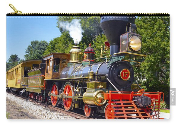 Steaming Into History Carry-all Pouch