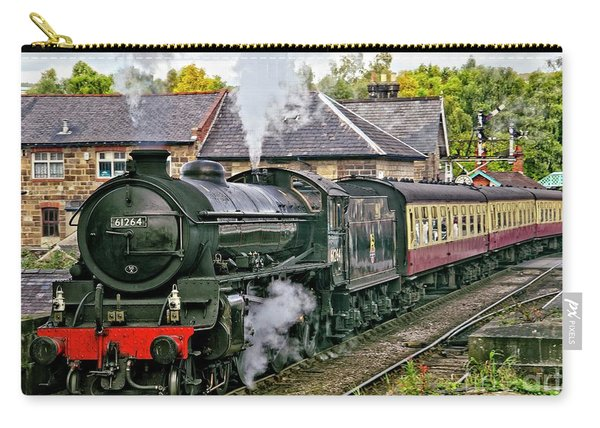 Steaming Out Of Grosmont Station Carry-all Pouch