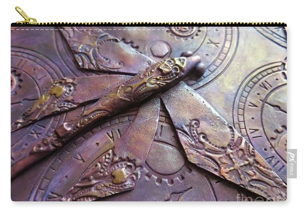 Steampunk Dragonfly Carry-all Pouch