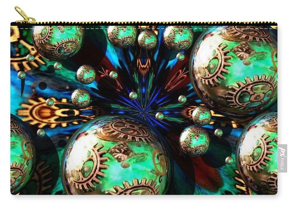 Steampunk Fractal 71216.4 Carry-all Pouch