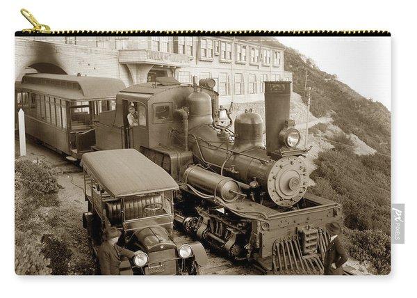Stean Engine No. 8 Mount Tamalpais Circa 1920 Carry-all Pouch
