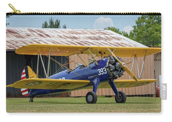Stearman And Old Hangar Carry-all Pouch