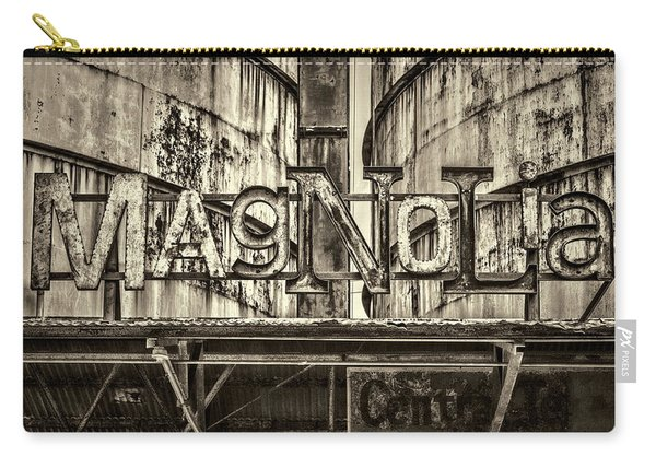 Steel Magnolia Carry-all Pouch