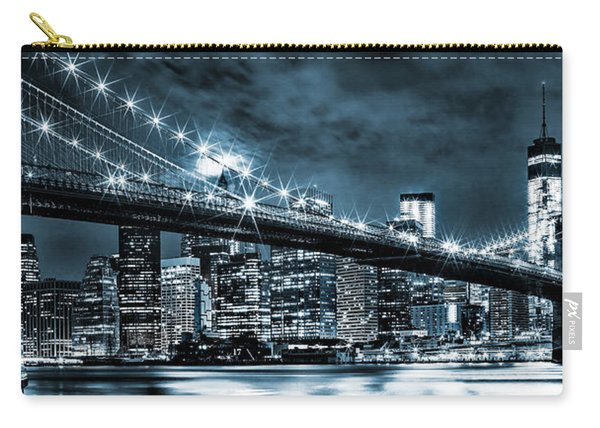 Steely Skyline Carry-all Pouch