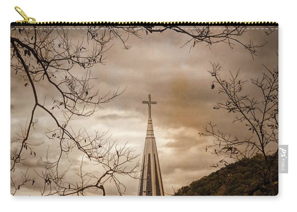 Steeple Of Time Carry-all Pouch