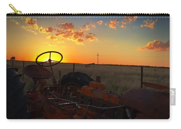 Steering The Sun Carry-all Pouch