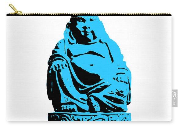 Stencil Buddha Carry-all Pouch