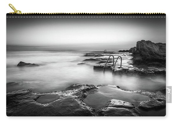 Steps Into The Sea Bw Carry-all Pouch