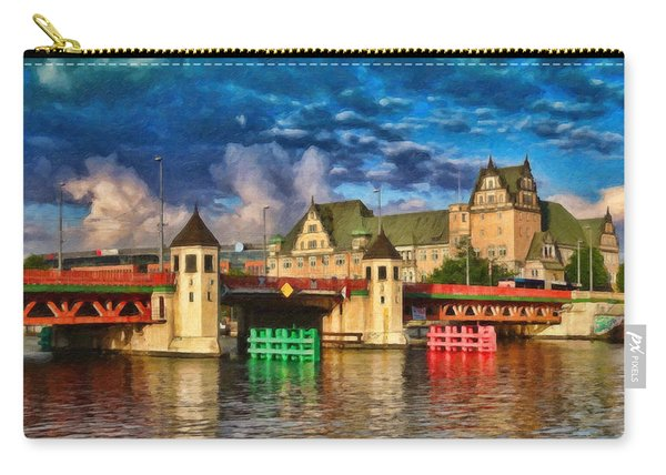 Stettin Bridge - Pol890431 Carry-all Pouch