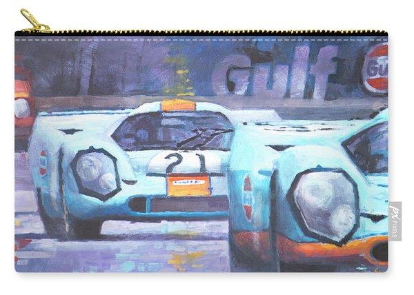Steve Mcqueen Le Mans Porsche 917 01 Carry-all Pouch