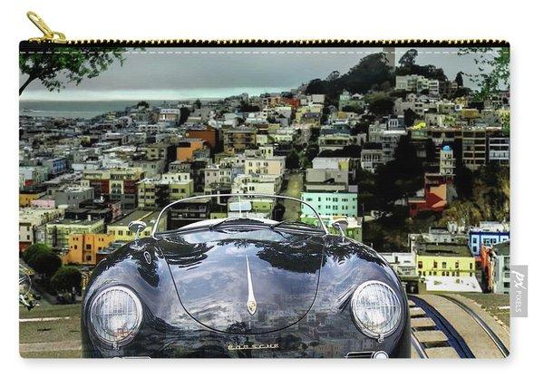 Steve Mcqueen's 58' Porsche 356 1600 Speedster, Telegraph Hill, San Francisco, Ca Carry-all Pouch